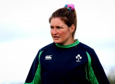 Ireland flanker Anna Caplice.