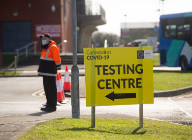 A test centre in Athlone, Westmeath