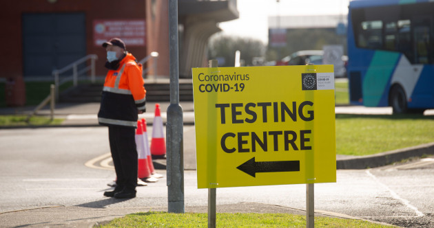 Over €480 million spent on Covid-19 tests provided free of charge since start of pandemic