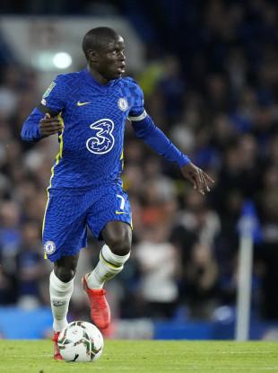Chelsea star N'Golo Kante.