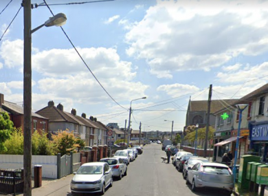 File photo of Church Road in East Wall (not of scene).