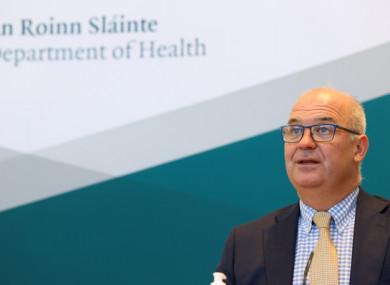 Chief Medical Officer Tony Holohan