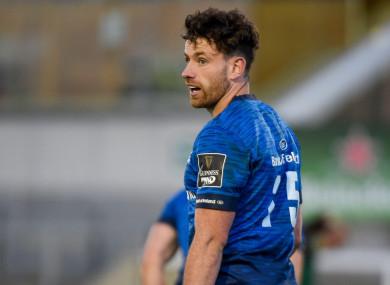 Leinster fullback Hugo Keenan.