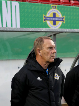 Northern Ireland manager Kenny Shiels.
