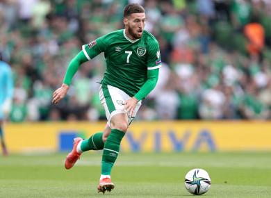 Ireland's Matt Doherty (file pic).