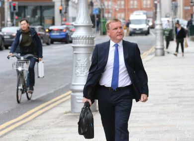 Minister for Public Expenditure Michael McGrath discussed the budget today.