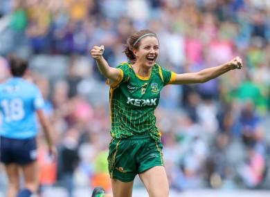 Winner, winner: Niamh O'Sullivan.