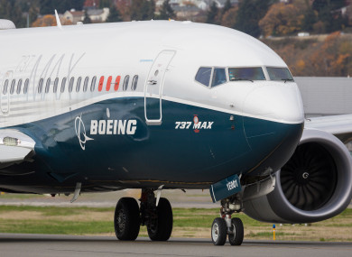 File photo of a Boeing 737 Max pictured in November 2020