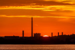 Whitegate oil refinery and power station in Co Cork, which has been closed for repairs