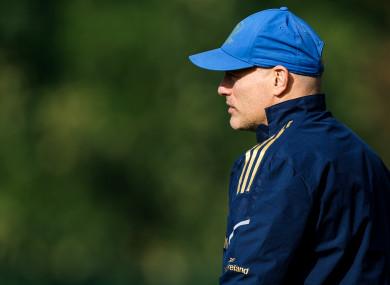 Leinster coach Felipe Contepomi.