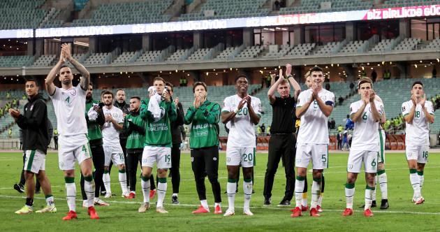 As it happened: Azerbaijan v Republic of Ireland, 2022 World Cup Qualifier