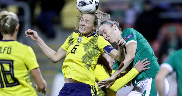 As it happened: Republic of Ireland vs Sweden, Women's World Cup Qualifier
