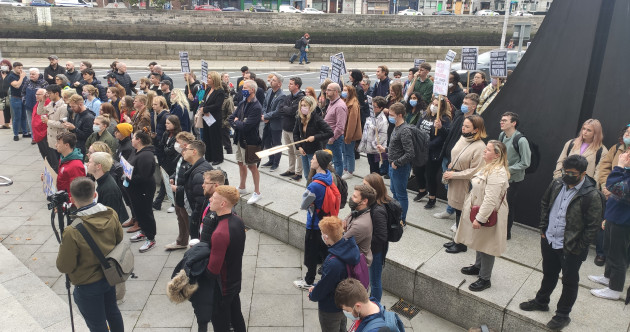 Students protest Dublin City Council over CEO Keegan's comments on student housing